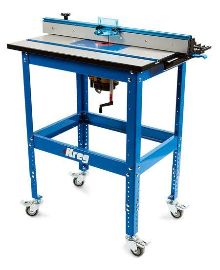 choosing  router table  reviewing bench dog  kreg