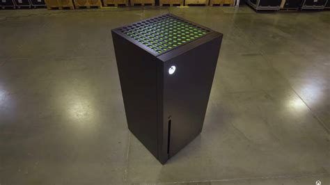 microsoft built  xbox series  refrigerator