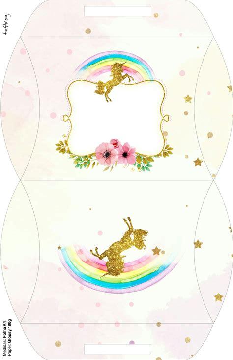más de 25 ideas increíbles sobre cajas unicornio en