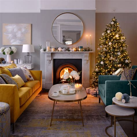christmas living room decorating ideas living room