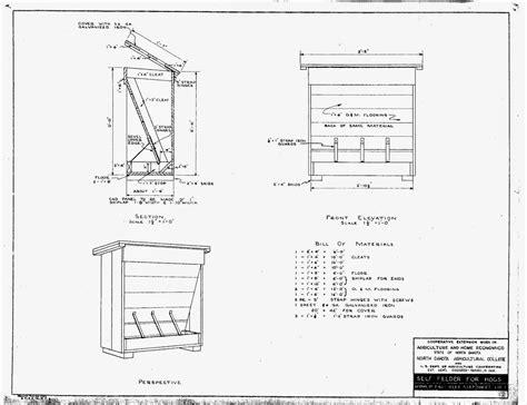 hog feeder plans nirvana valley model railroad portable hog house feeder