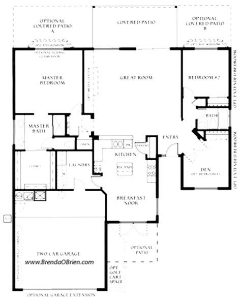 saddlebrooke floor plan laredo model