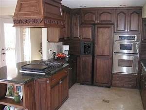 HOME DESIGN IDEAS: Oak Kitchen Cabinets Design Ideas