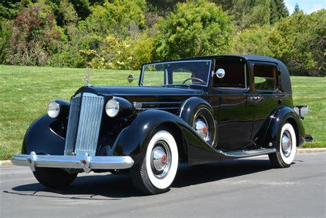 1937 Packard V-12 Town Car   Blackhawk Collection
