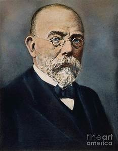 Robert Koch (1843-1910) Photograph by Granger
