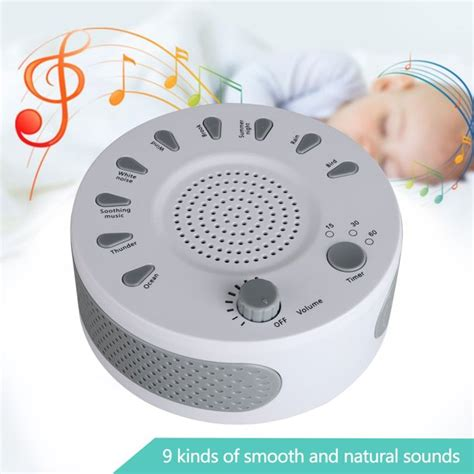 This opens in a new window. TSV White Noise Machine, Sound Machine for Sleeping ...