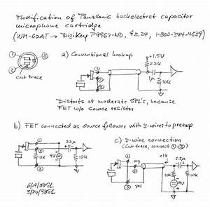 Microphone Circuits - Electronics Tutorial And Schematics