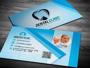 Dentist business card template graphicdiamonds for Dentist business card template
