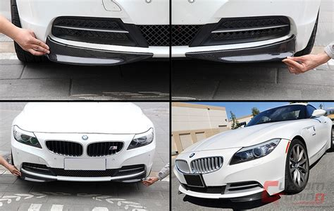 Carbon Fiber Splitter For 2009-2014 Bmw Z4 E89 W/ Regular