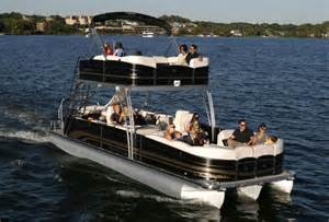 lovely double deck pontoon 4 double decker pontoon boats