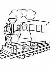 Locomotora Kleurplaten Leukekleurplaten Pngitem Trein Dibujosparaimprimir Trenes Coloringpage 1001coloring Wagon sketch template
