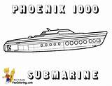 Submarine Coloring Ship Pages Luxury Colouring 1000 Boats Phoenix Navy Yescoloring Force Yacht sketch template