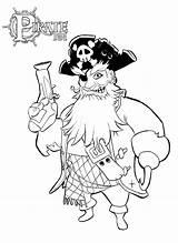Pirate Coloring Pirate101 Downloads sketch template
