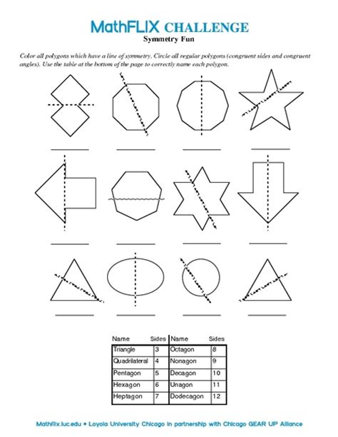 Maths Symmetry Worksheets  Monster Symmetry Worksheets Activities Greatschools Art Free Maths