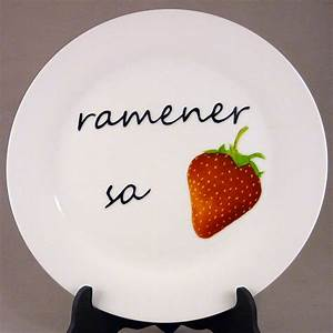 Assiette Plate Originale : assiette plate originale table de cuisine ~ Teatrodelosmanantiales.com Idées de Décoration