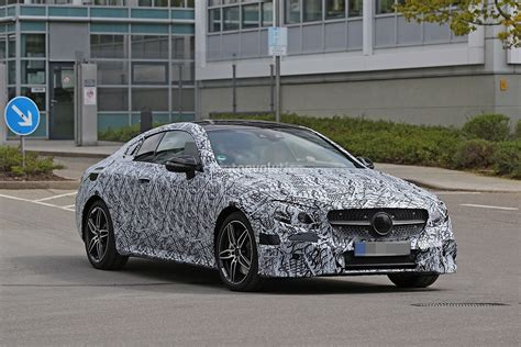 2018 Mercedesbenz Eclass Coupe Spied In Germany