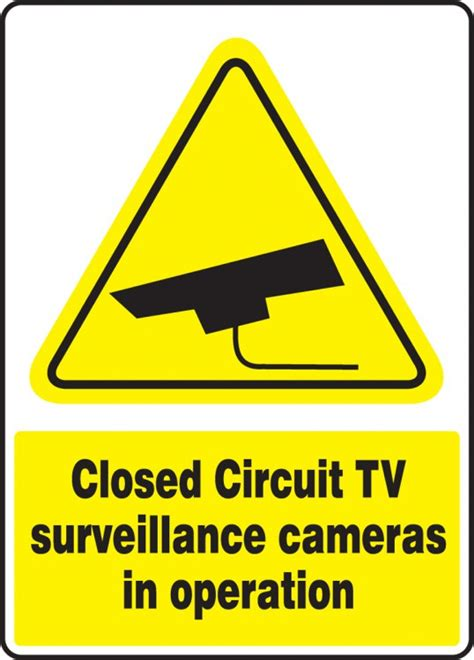 closed circuit tv surveillance cameras  operation safety