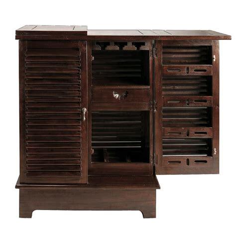 meuble chambre bébé meuble de bar en mahogany massif l 80 cm planteur