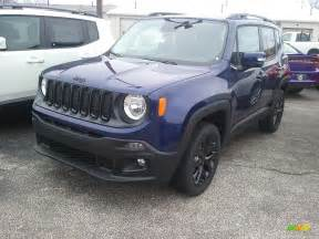 jeep renegade dark blue 2017 jetset blue jeep renegade altitude 4x4 117792682