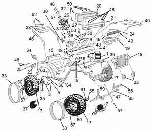 Power Wheels Lil Jeep Parts