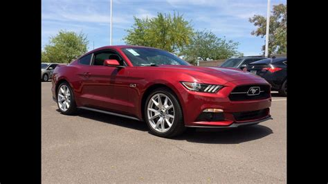 2015 Ford Mustang 5.0l Gt 50th Anniversary Edition