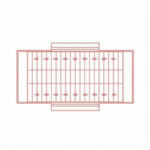American Football Field Goal Post Dimensions  U0026 Drawings