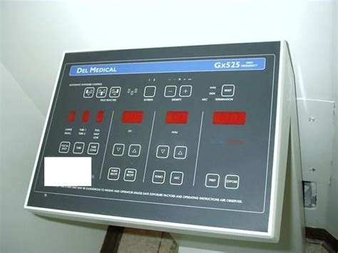 del medical systems atc   ray generator model