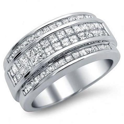 mens white gold diamond wedding rings wedding and bridal