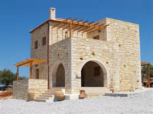 Traditional Greek Stone Houses