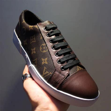 louis vuitton match  sneaker arv  men brown