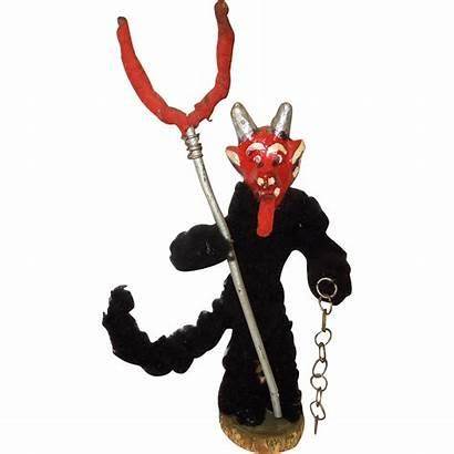 Krampus Devil Austrian Rare 1920 Lane