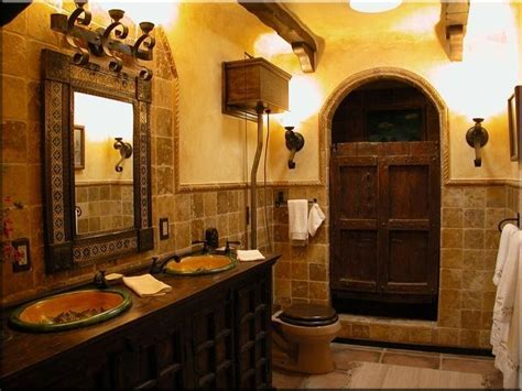 Spanish style bathrooms photos
