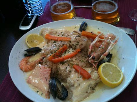 la cuisine de valerie choucroute de la mer hôtel restaurant la broche d 39 argent