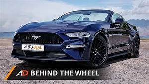 2018 Ford Mustang GT Premium AT Convertible Review - Behind the Wheel - YouTube