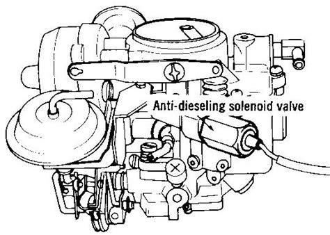 tech wiki anti diesel valve datsun  club