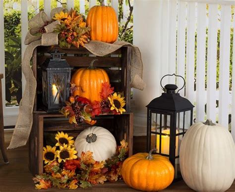 Fall Decorating : Front Porch Decorating Ideas For Fall