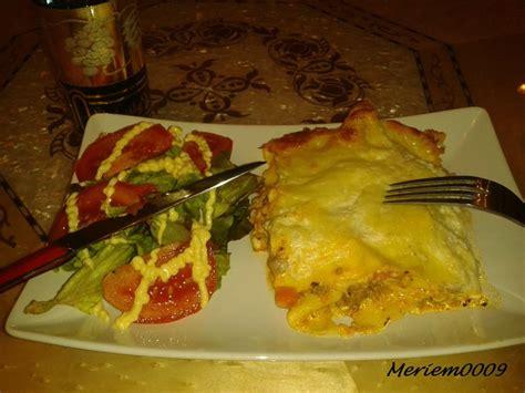 cuisine de meriem lasagnes la cuisine de meriem