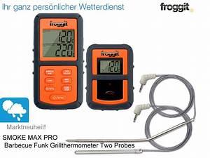 Funk Thermometer Grill : funk grillthermometer smokemax pro 2 f hler bbq grill thermometer smoker ebay ~ Watch28wear.com Haus und Dekorationen