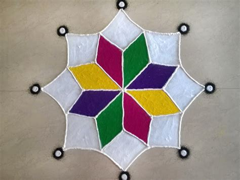 easy rangoli design simple rangoli designs images