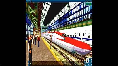 Trainz Amtrak Station Njt Shinkansen Railfanning