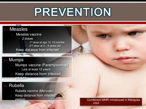 Measles, mumps & rubella
