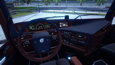 euro truck simulator  volvo fh  interior