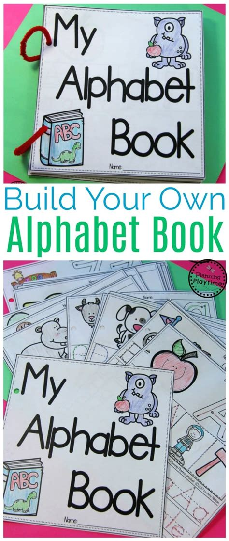 diy alphabet books teachers pay teachers  store