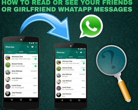 alternate ways to find app how to read or see your friends or whatsapp