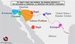 Tribes Spanning the US-Mexico Border – The Decolonial Atlas