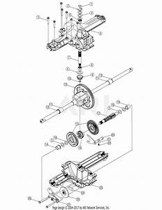 Mtd 13ax605h730  2006  Parts Diagram For Transmission