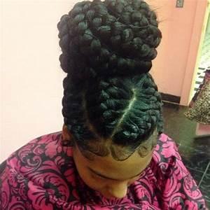6 goddess braids in a bun pertaining to Home   Modern ...