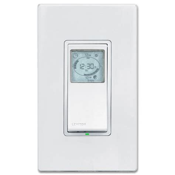 Leviton Vizia Programmable Timer Wall Switch