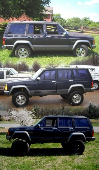 stock jeep vs lifted stock vs lifted jeep cherokee forum