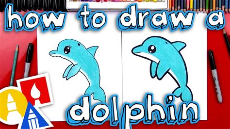 draw  cartoon dolphin youtube